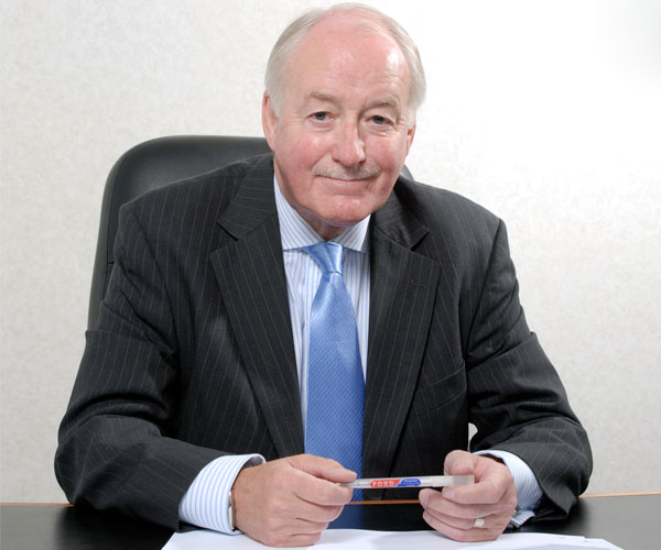 Geoff Ford MBE named as one of the top 100 most influential people in UK manufacturing