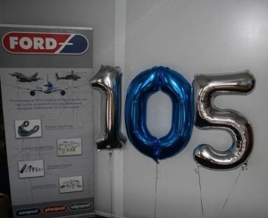 Ford is 105 years old