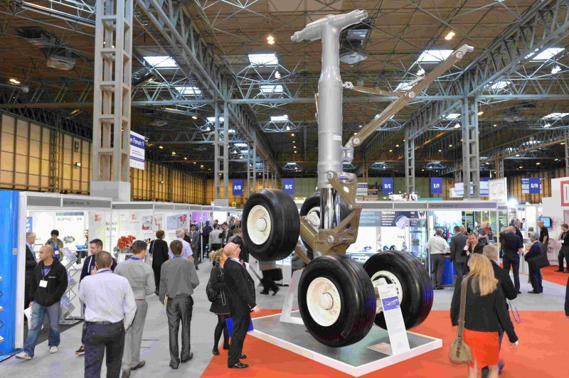 Airbus A350 Main Landing Gear - Advance Engineering Exhibition 2015